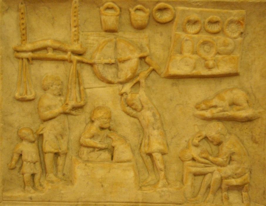 commerce rome antique